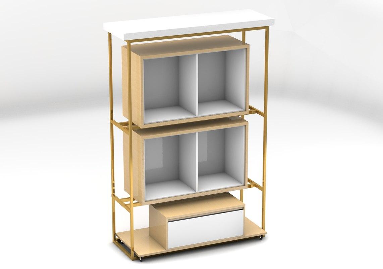retail store rack model