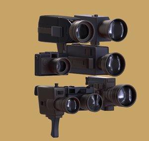 3d model > film camera