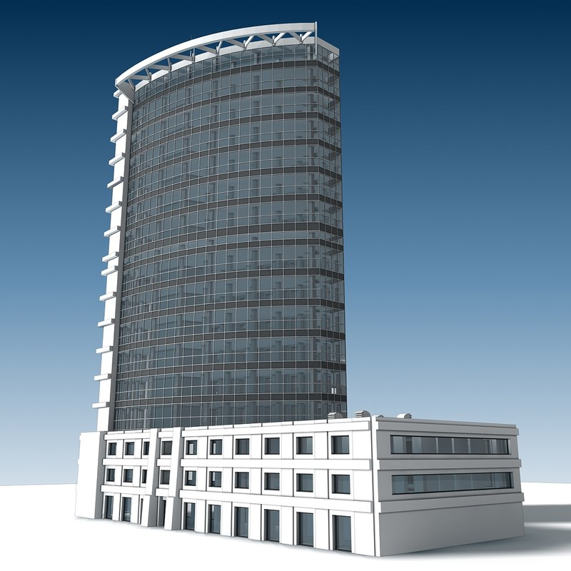 building 25 3D model