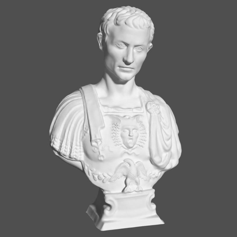 3D julius caesar model