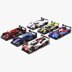 pack wec season 2018-19 3D model