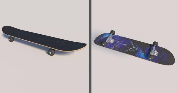 skateboard skate model