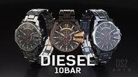 diesel watch 3D
