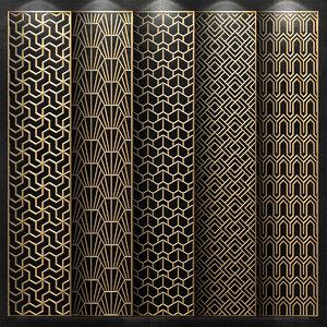 decorative panels 3D model