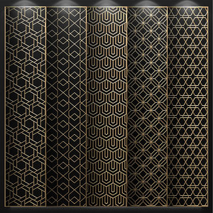 decorative panels 3D model
