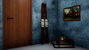 3D furniture norvedem skis