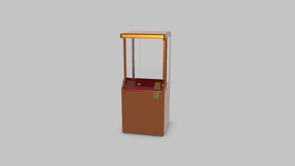 toy automat 3D model