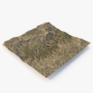 terrain 2 3D