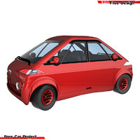 3D electric car