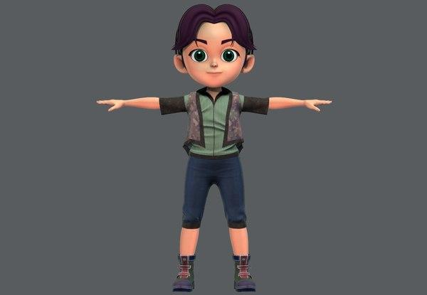 3D base boyv03 clothing v01