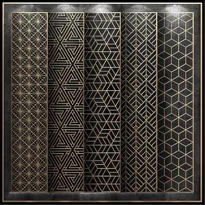 3D model decorative panels