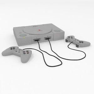 playstation classic 3D model