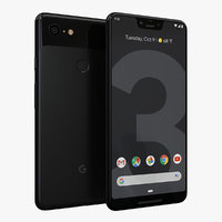 google pixel 3 xl 3D model