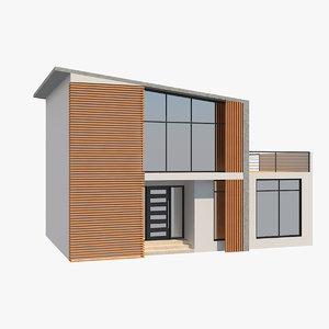 modern house 5 3D model
