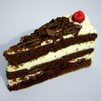 3D creamcake cake cream model