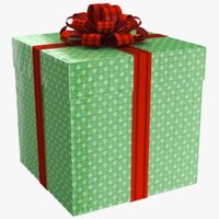 3D model real gift box