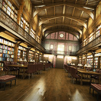 3D model historical library