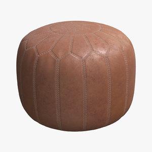 3D cushion leather 02