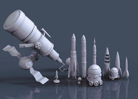 craft c 3D model