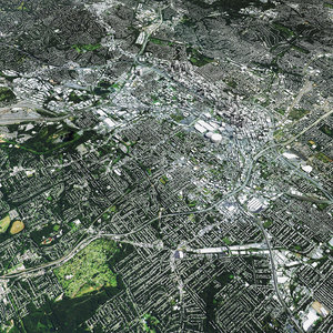 3D atlanta city model