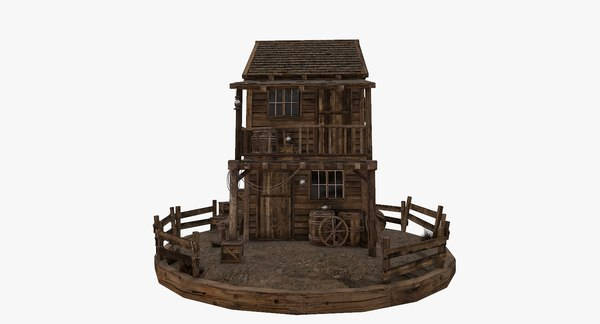 old west house model
