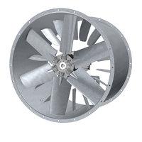 3D industrial axial fan