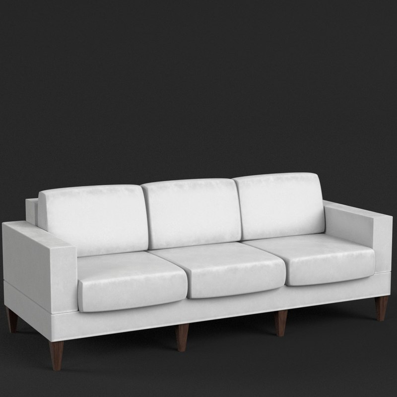 3d model couch sofa 3