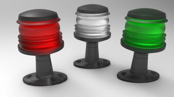 3D model navigation light