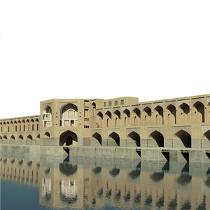 khaju bridge-32 3D model