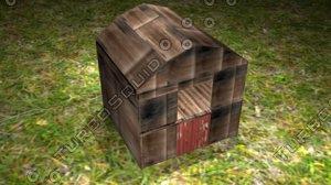 3D model barn price