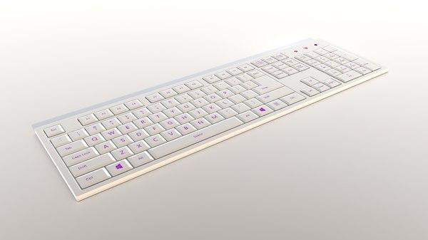 keyboard key board 3D