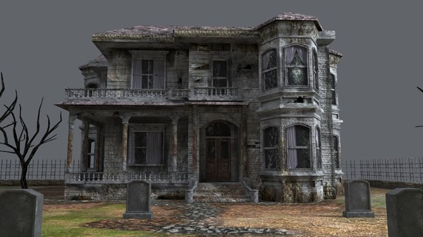 haunted house model
