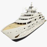 superyacht topaz 3D
