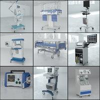 3D 9 1 medical pack model