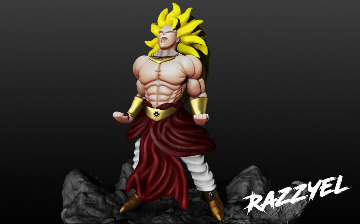dragon ball z character model