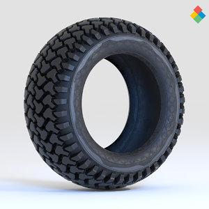 tire design 3D model