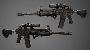 m416 details 3D model