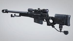 sniper rifle aw50 model