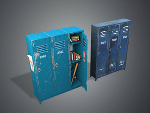 games locker pbr metal model