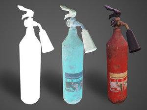 3D extinguisher industrial