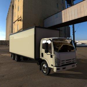 lorry truck 3D
