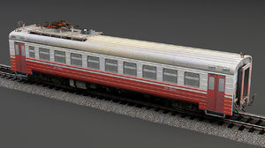 3D railcar cmv lvz low-poly