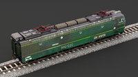 3D railroad train transport