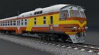 3D train vehicle model