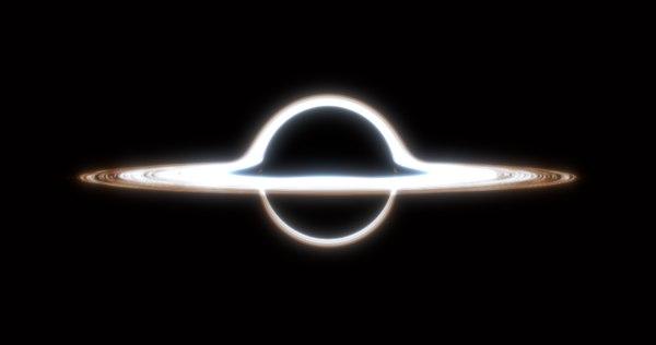 3D model black hole