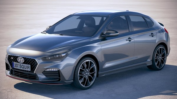 hyundai i30 fastback 3D model