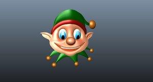 3D elf mask