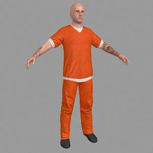 3D prisoner model