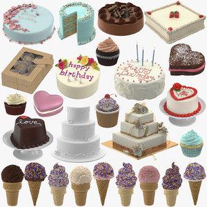 pastry shop 01 3D