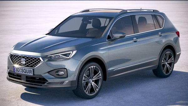 seat tarraco 2019 3D model